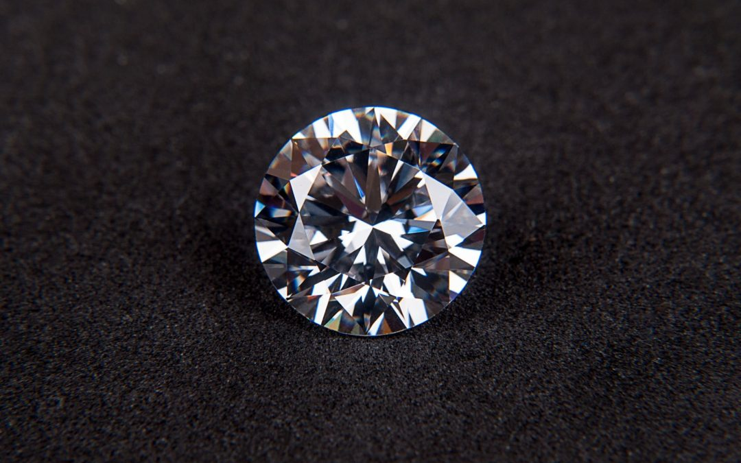 Diamond gemstone crystal